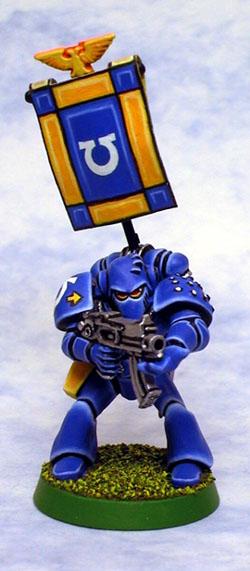 Ultramarines Squad Leader