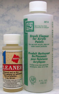Liquid Brush Cleaners