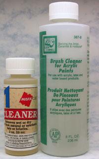 Liquid Brush Cleaners