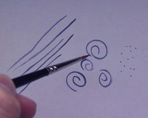 Testing the Brush Tip