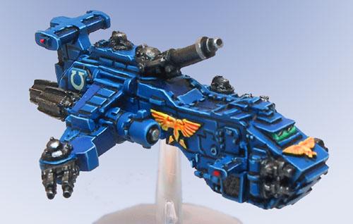 Epic Thunderhawk, Front