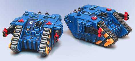 Epic Landraiders Mk2