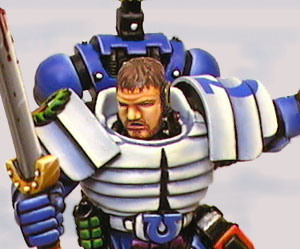 Maximus without helmet