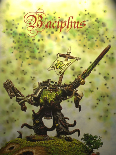 Baciphus, favored son of Nurgle