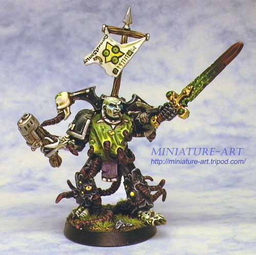 Baciphus, Champion of Nurgle