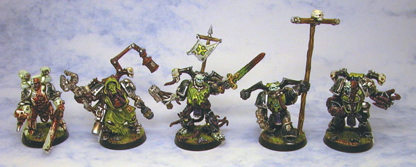 Plague Marine Squad